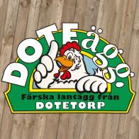 Doteägg: logo & äggkartong