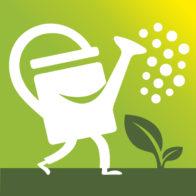 GoGlad: ikon/spel logo för ett platsbaserat spel (Hushållningssällskapet Väst & IUS innovation AB)